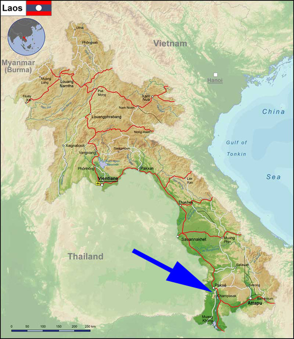 Access to Vat Phou
